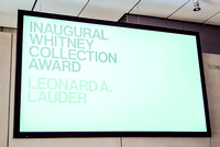 04-05-16 Inaugural Whitney Collection Award Honoring Leonard A. Lauder